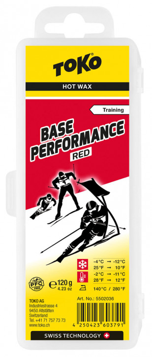 TOKO Base Performance 120g Red