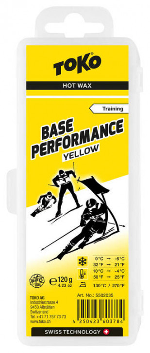 TOKO Base Performance 120g Yellow