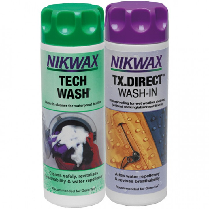 NIKWAX Techwash & TX Direct Pflegemittel 300ml